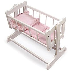Badger Basket Heirloom Doll Cradle|https://ak1.ostkcdn.com/images/products/3358326/3/Badger-Basket-Heirloom-Doll-Cradle-P11448153.jpg?impolicy=medium