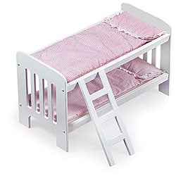Badger Basket Doll Bunk Beds with Ladder|https://ak1.ostkcdn.com/images/products/3358327/3/Badger-Basket-Doll-Bunk-Beds-with-Ladder-P11448154.jpg?_ostk_perf_=percv&impolicy=medium