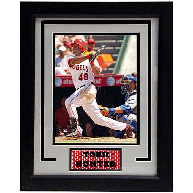 Torii Hunter 11x14 Deluxe Frame Photo