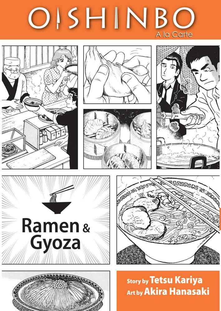 Oishinbo 3: Ramen and Gyoza (Paperback)