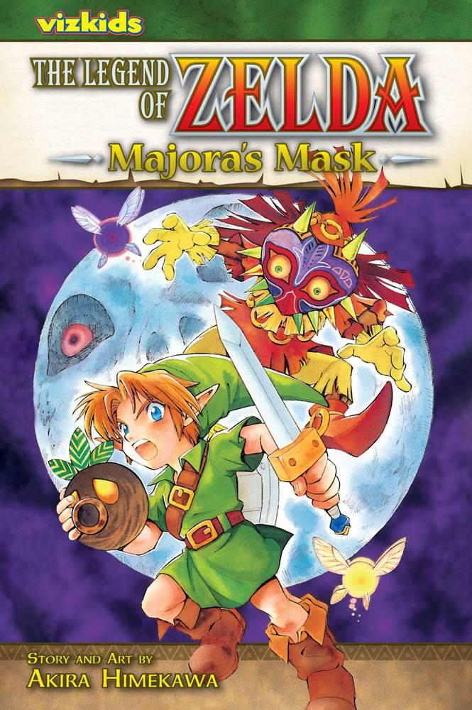 The Legend of Zelda 3: Majora's Mask (Paperback)