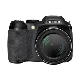 Fujifilm FinePix S2000HD 10 Megapixel Bridge Camera - Black