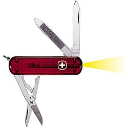 Swiss Army Microlight 7-tool Esquire Pocket Knife - Thumbnail 0