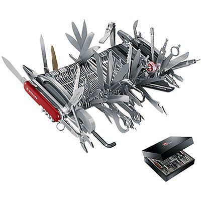 shop wenger giant 85 tool 141 function swiss army knife free
