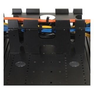 Tripp Lite Rack Enclosure Cabinet Roof Mount Cable Trough Vertical EX