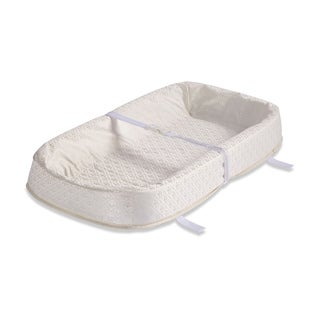 LA Baby 30-inch 4-sided Changing Pad with Organic Cotton Layer