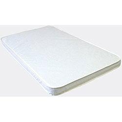 LA Baby 2-inch Compact Crib Mattress
