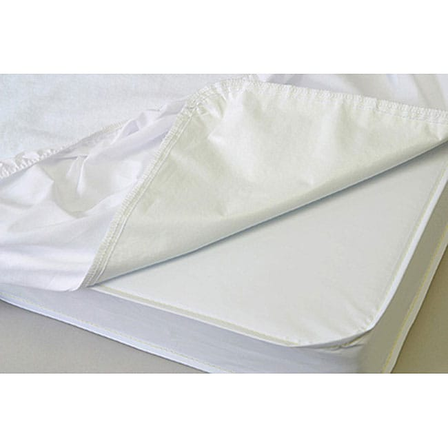Very Helpful Crib Mattress Pad LA Baby Waterproof Compact Crib Mattress Cover in Neutral