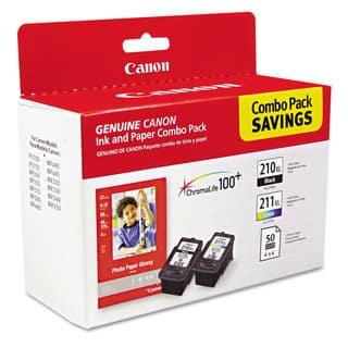 Canon 2973B004 (PGI-210XL/CL-211XL) High-Yield Black/Tri-Color Ink/Paper Combo|https://ak1.ostkcdn.com/images/products/3364041/P11452924.jpg?impolicy=medium