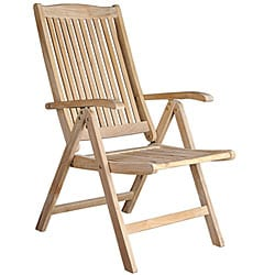 Helsinki Teak Recliner Patio Chair - Thumbnail 0