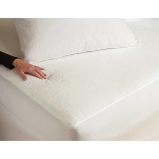 Tuffguard Plus Microvelour Mattress Protector with Ultra-Soft and Waterproof Fabric