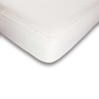 Tuffguard Plus Microvelour Mattress Protector with Ultra-Soft and Waterproof Fabric (More options available)