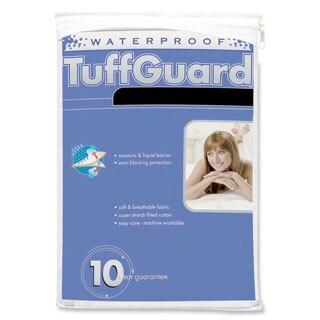 Tuffguard Plus Hypoallergenic Microfiber Pillow Protectors (Set of 2)