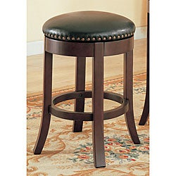 Copper Grove Ashdown Cherry 24-inch Counter Swivel Stools (Set of 2)