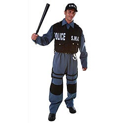 Deluxe Adult S.W.A.T. Police Officer Costume