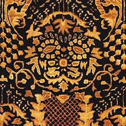 Safavieh Handmade Majestic Black New Zealand Wool Rug (6' x 9') - Thumbnail 1