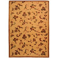 Safavieh Handmade Paradise Gold New Zealand Wool Rug - 5' x 8'