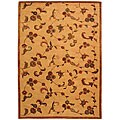 Safavieh Handmade Paradise Gold New Zealand Wool Rug - 6' x 9'