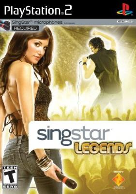 PS2 - SingStar Legends