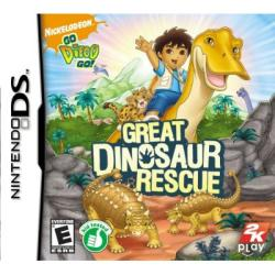 Nin DS - Go, Diego, Go!: Great Dinosaur Rescue