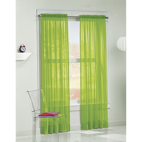 No. 918 Calypso Sheer Single Curtain Panel
