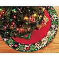 Mary Engelbreit Wreath Tree Skirt Felt Applique Needle Point Kit