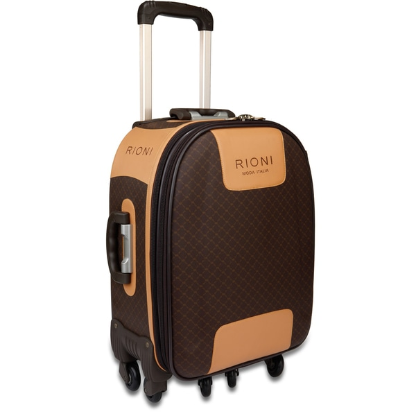 Rioni Signature 24-inch Expandable Spinner Upright Suitcase