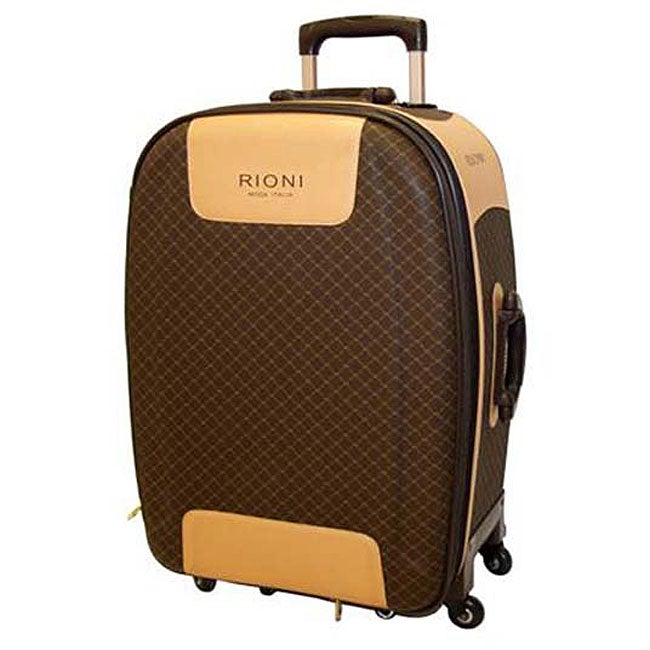 Rioni Signature 28-inch Expandable Spinner Upright Suitcase