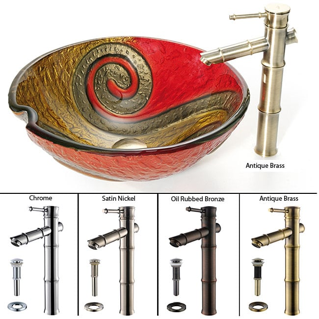 Snake Kitchen Sink Kraus Copper Snake Glass Sink And