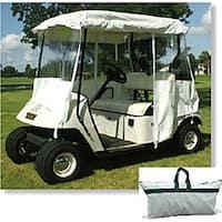 'All Season' White Golf Cart Cover