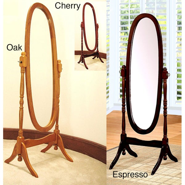 Bevelled Cheval Floor Mirror