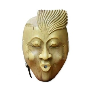 """The Whistler Wood Mask - 6"""" x 9"""""""