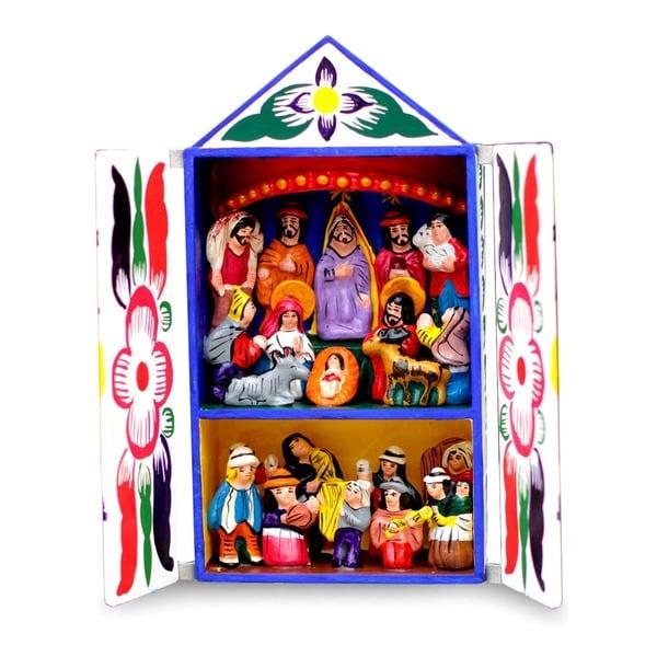 Shop Chapel Of Santa Ana Retablo Free Shipping On