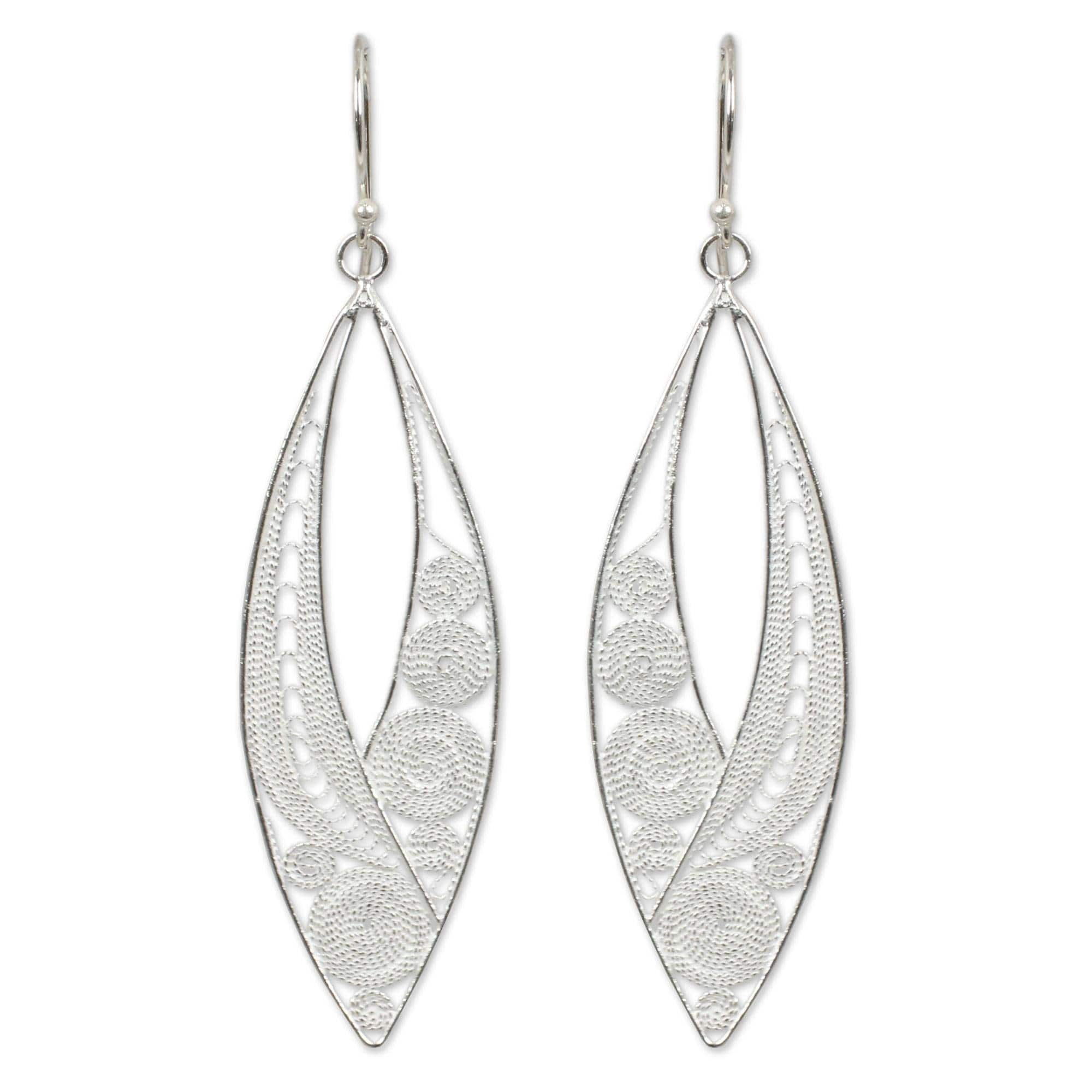 Buy Sterling Silver Earrings Online At Overstock Our