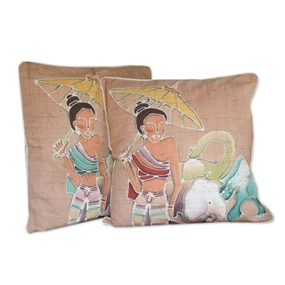 Cotton Grace and Power Cushion Set of 2 Covers