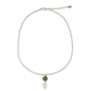 Pearl and Jade 'Lucky Cycle' Choker (Thailand)