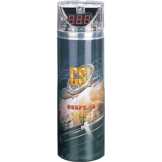 Shop GSI High Performance Digital 2 Farad Capacitor