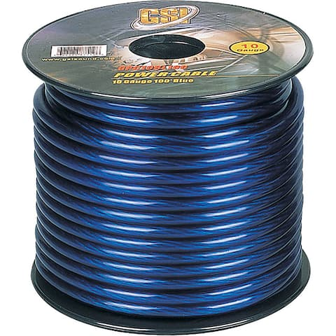GSI GPC10BL100 10-gauge Ground Cable (100 feet)