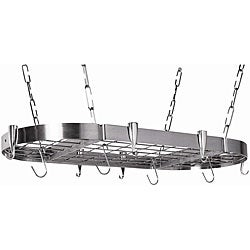 Oval Stainless Steel Pot Rack
