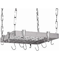 Square Stainless Steel Pot Rack - Free Shipping Today ...