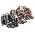 Adi Designs Plaid Fleece Lined Cap