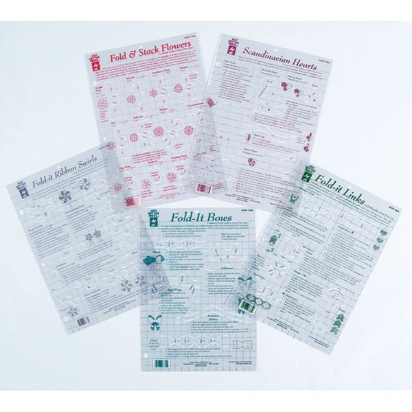 Hot Off The Press Folding Template (Pack of 5)