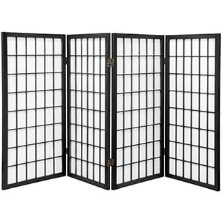 3 ft handmade wood paper panel miniature windowpane shoji screen china