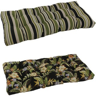 Link to Blazing Needles 42-Inch All-Weather Bench Cushion Similar Items in Outdoor Cushions & Pillows
