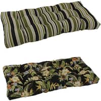 Tufted Outdoor Loveseat/Bench Cushion
