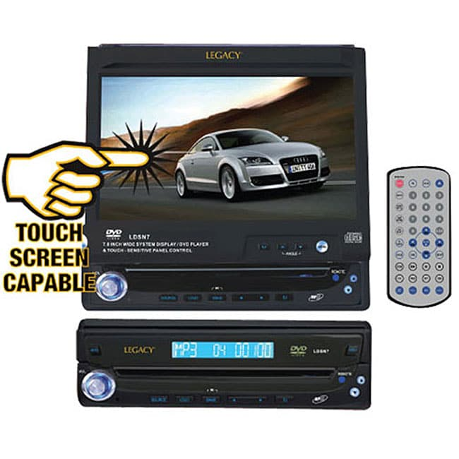 Legacy Touch 7-inch Screen Dashboard DVD/ CD/ MP3 Player (Refurbished)