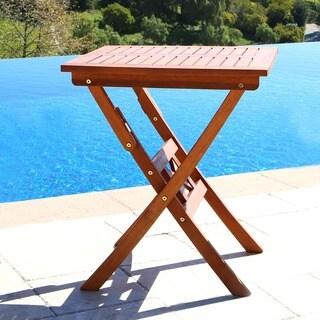 Havenside Home Surfside 24-inch Folding Bistro Table