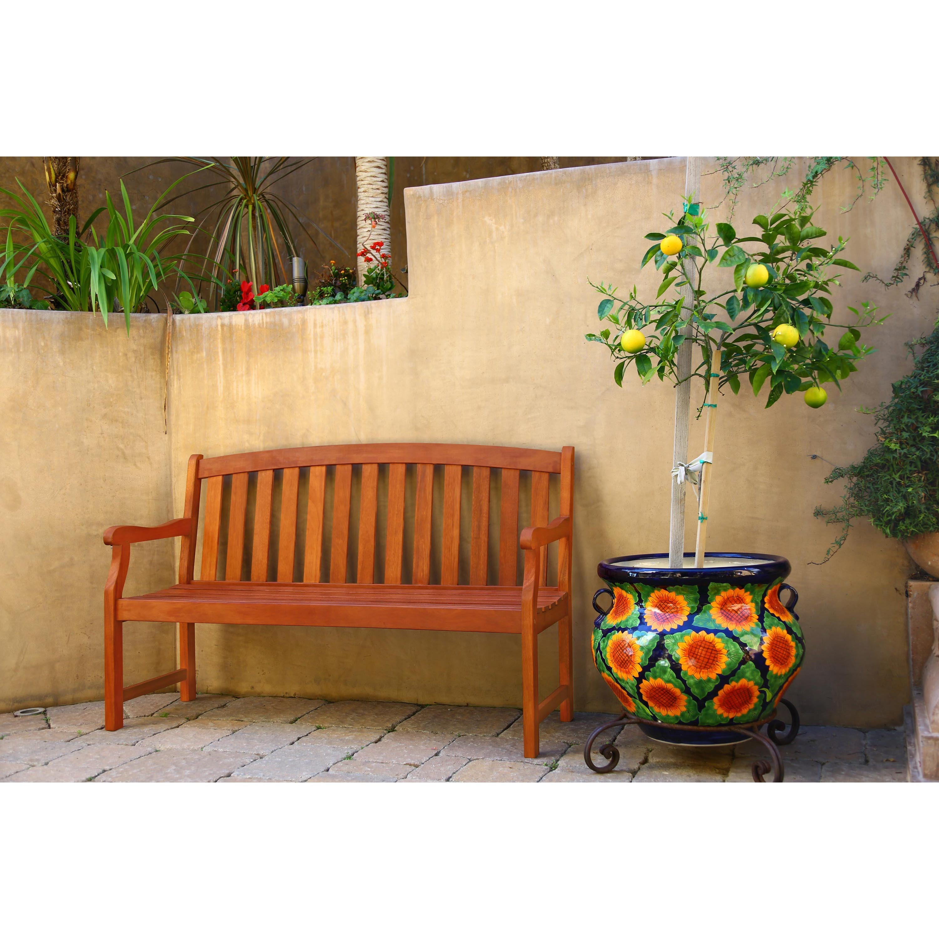 Shop Marley 5-foot Bench - Free Shipping On Orders Over $45 ...