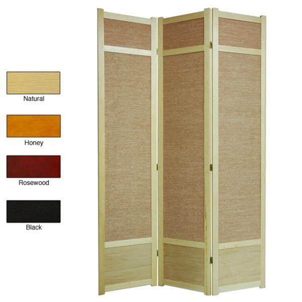 Shop Handmade Jute 84 inch Room Divider China Free Shipping