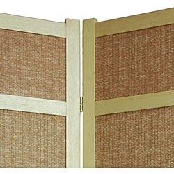 Handmade Jute 84-inch Room Divider (China) - Thumbnail 1
